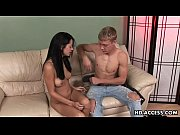 Picture Sexy Cassidey gives Young Girl 18+ a hot blo...