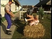 Picture German lady fucked by two farmers