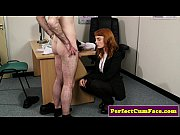 Picture Redhead doctor facial