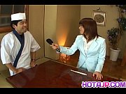 Picture Mitsu Anno gets cock deepthroat and cum in m...