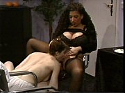 Picture Busty Tiziana Redford in Black Lingerie lesb...