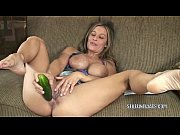 Picture Busty cougar Leeanna Heart masturbates with...