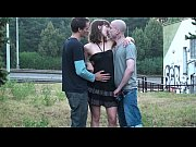 Picture PUBLIC sex threesome orgy with a pretty girl