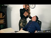 Picture New secretary blows and fucks her boss on he...