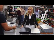 Picture Hot blonde MILF gets paid by Pawnshop owner...