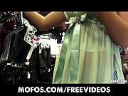 Picture Stunning amateur girlfriend goes shopping fo...