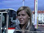 Picture CZECH STREETS - Ilona takes cash for public...