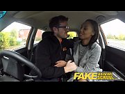Picture Fake Driving School nervous black Young Girl...