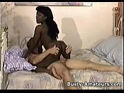 Picture Busty ebony Sierra sucking and fucking cock