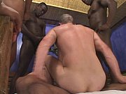 Picture Gay boy gets thick black cocks