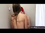 Picture Girls Out West - Slender Aussie lesbian babe...