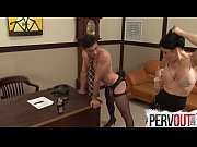 Picture Naughty secretary pegs her boss