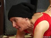 Picture Hairy granny fucked on the pool table