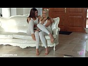 Picture Christen Courtney and Alexis Brill fingering...