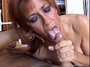 Picture Gorgeous ginger cougar enjoys a hard fuck