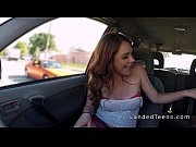 Picture Redhead Young Girl 18+ giving blowjob in he...