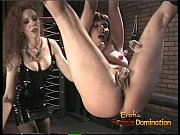 Picture Foxy bint gets suspended from the ceiling an...