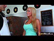 Picture Busty blonde Mariah Madysinn takes a big one