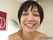 Picture Asian busty slut tries out the sex toy