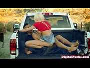 Picture Busty Rikki Six fucked in tailgate