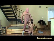Picture Grandpa in love with cute Young Girl 18+