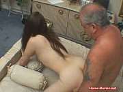 Picture Brunette Nailed Hard By Old Cock