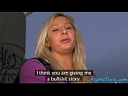 Picture Blonde amateur Sabina pounded in public and...