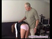 Picture Daddy punishes not his stepdaughter