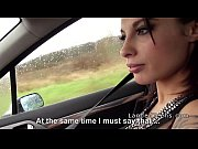 Picture French tattooed Young Girl 18+ hitchhiker fu...