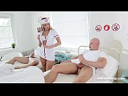 Picture Naughty Nurse Jenny Simons Treats Two Patien...