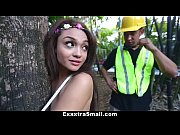 Picture ExxxtraSmall - Tree Hugging Young Girl 18+ F...