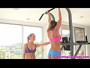 Picture Nicole Aniston and Abigail Mac working out