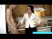 Picture Cougar tuggs and blows cock like a pro