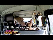Picture Female Fake Taxi Sexy male stripper cums in...