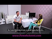 Picture FemaleAgent Big cock delivers creampie prese...