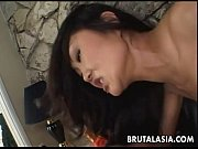 Picture Asian brunette whore sucks and gets ass fuck...
