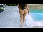 Picture Monster Ass by the pool