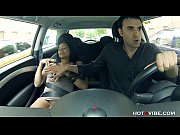 Picture Horny Latin GF squirts in his car
