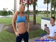 Picture MILF Flood- Blonde Melanie Monroe