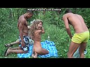 Picture 3 guys blonde fucked hard in the forest