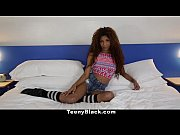 Picture TeenyBlack - Petite Ebony Does Splits While...