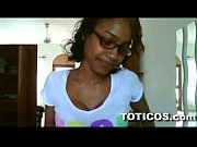 Picture Fine ass dominican girl with glasses gets na...