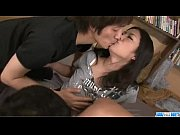 Picture Dirty threesome porn along busty Satomi Suzu...