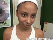 Picture Young Girl 18+ Babysitter Alexis Spreading H...