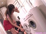Picture Deep blowjob in the laundry