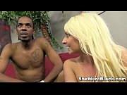 Picture Blonde Babe Kali Kavalli gets Interracial Se