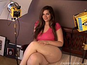 Picture Behind the scenes photo shoot with a super c...