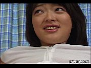 Picture Lovely Rie Mizuno toy insertion action