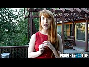 Picture PropertySex - Hot redhead real estate agent...