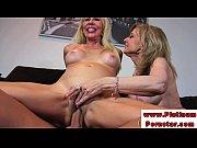 Picture Erica Lauren and Nina Harthley ride cock